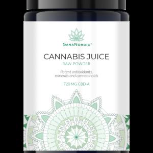 cbd cannabis pulver