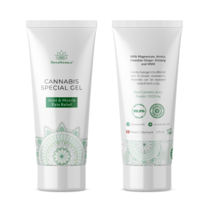 cannabis smerte gel